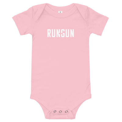 Run and Gun Logo Onesie