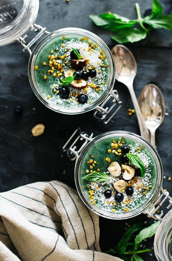 Green Goddess Chia Pudding