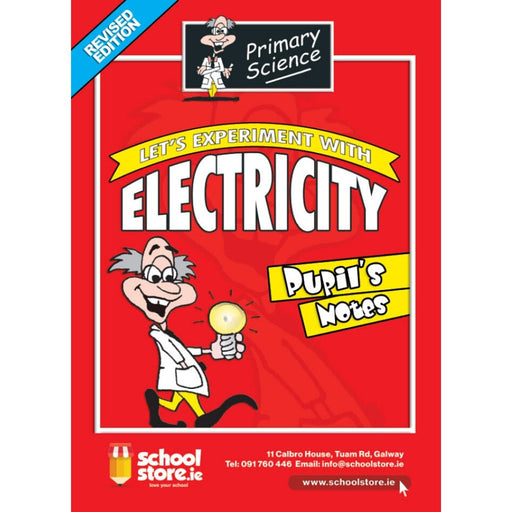 primary science electricity pupils notes schoolstore.ie