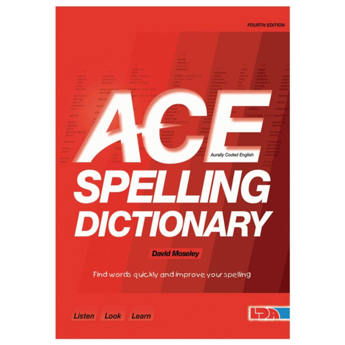 Ace Dictionary - English Language Skills & Activities Spelling Teacher Support