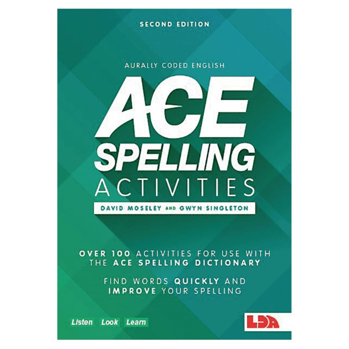 Ace Spelling Activities - English Language Skills & Activities Spelling Teacher Support