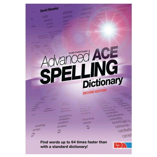 Advanced Ace Spelling Pocket Dictionary - English Spelling Teacher Support