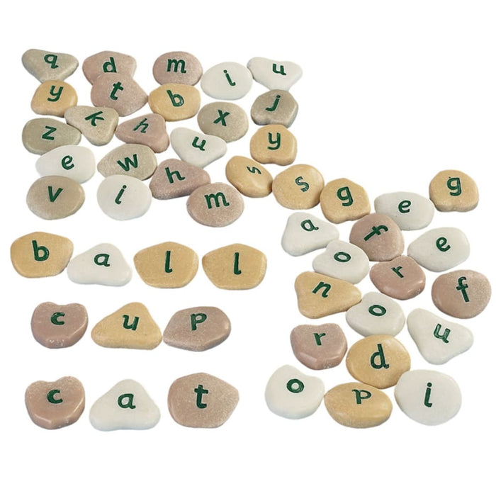 Alphabet Pebbles - English Spelling