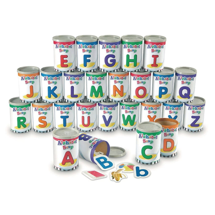Alphabet Soup Sorters - English Language Skills & Activities Phonics & Multiphonics Spelling