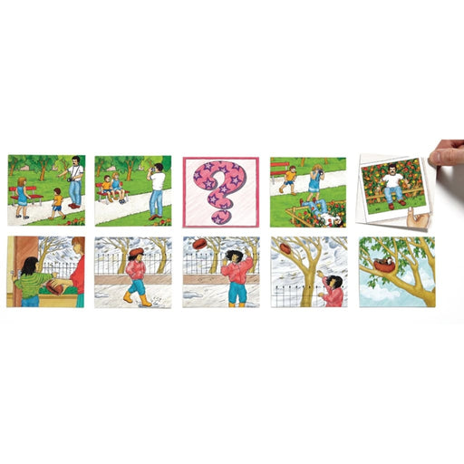 And Then Sequences - English Language Skills & Activities Sequencing & Predicting Visual & Audio Exploration