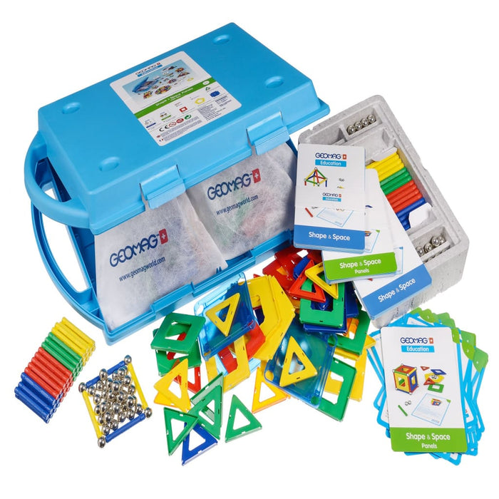 Geomag Education Set 224 Shapes & Spaces Panels