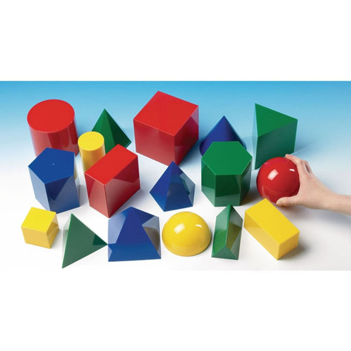 Geometric Shapes - Maths Gross Motor Skills Sorting & Counting Visual & Audio Exploration