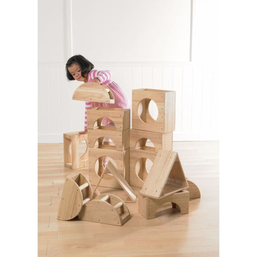 Hollow Blocks 14 Piece - Motor Skills Gross Motor Skills Playtime Assemblies