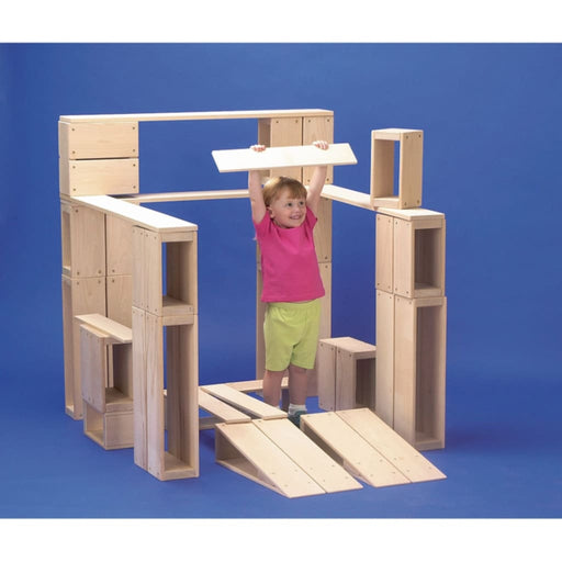Hollow Blocks 26 Piece - Motor Skills Gross Motor Skills Playtime Assemblies Sensory Motor Systems