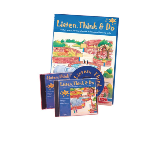 Listen Think & Do Special Offer - English Language Skills & Activities Memory & Listening Phonics & Multiphonics Sequencing & Predicting