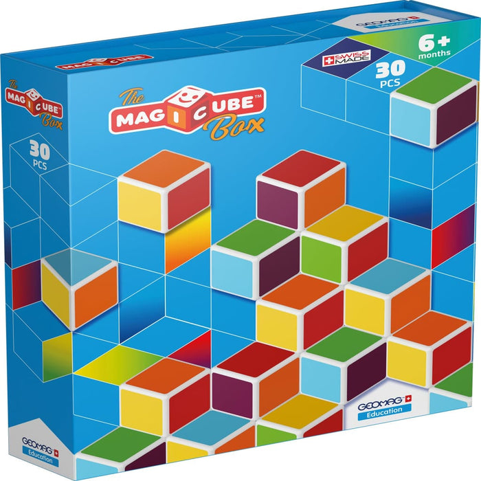 Magicube Box 30 - Motor Skills Fine Motor Skills Gross Motor Skills Language Skills & Activities Magicube Number Works & Games