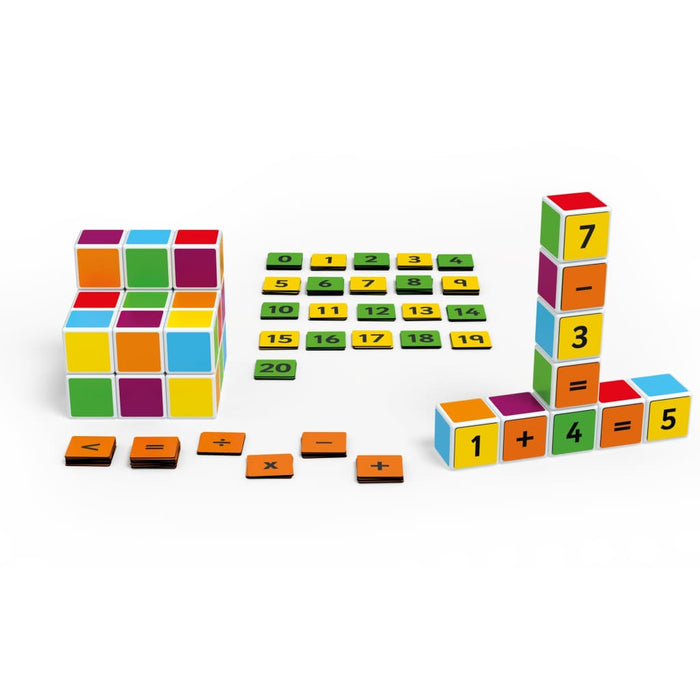 Magicube Maths Building - Maths Fractions & Measuring Magicube Motor Skills Number Works & Games Sequencing & Predicting
