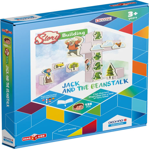 Magicube Story Building Jack & The Beanstalk - English Language Skills & Activities Magicube Memory & Listening Phonics & Multiphonics