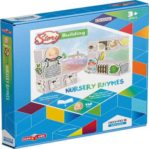 Magicube Story Building Nursery Rhymes - English Language Skills & Activities Magicube Memory & Listening Phonics & Multiphonics Sequencing