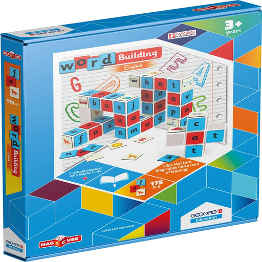 Magicube Word Building - English Language Skills & Activities Magicube Phonics & Multiphonics Sequencing & Predicting Spelling