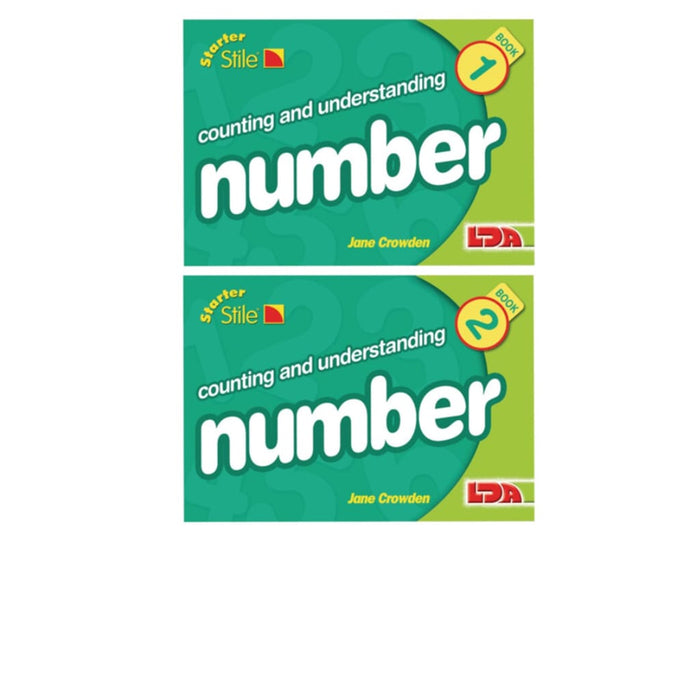 Multipack Starter Stile Maths Set 1 - Maths Dyspraxia & Dysculia Number Works & Games Sequencing & Predicting Sorting & Counting Stile