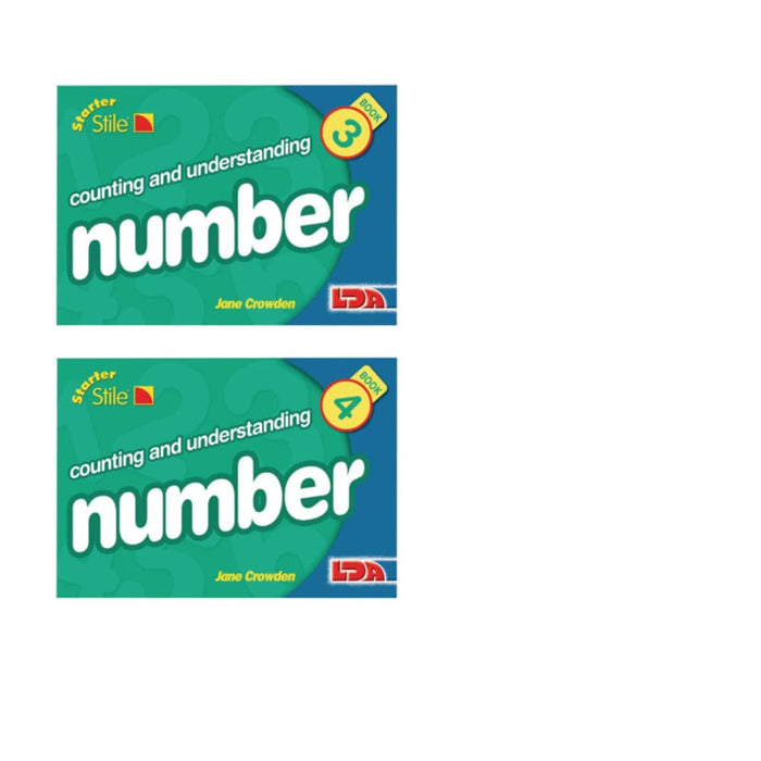 Multipack Starter Stile Maths Set 2 - Maths Number Works & Games Sequencing & Predicting Sorting & Counting Stile Mathematics