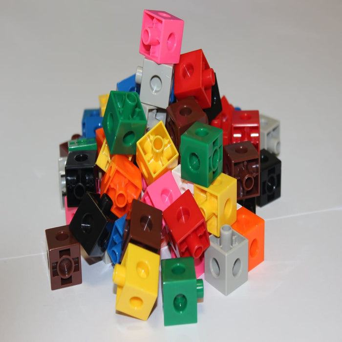 Number Board Connection Cubes