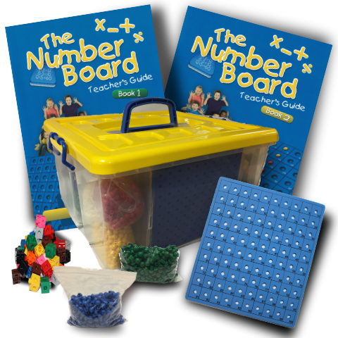 The Number Board Activity Kit