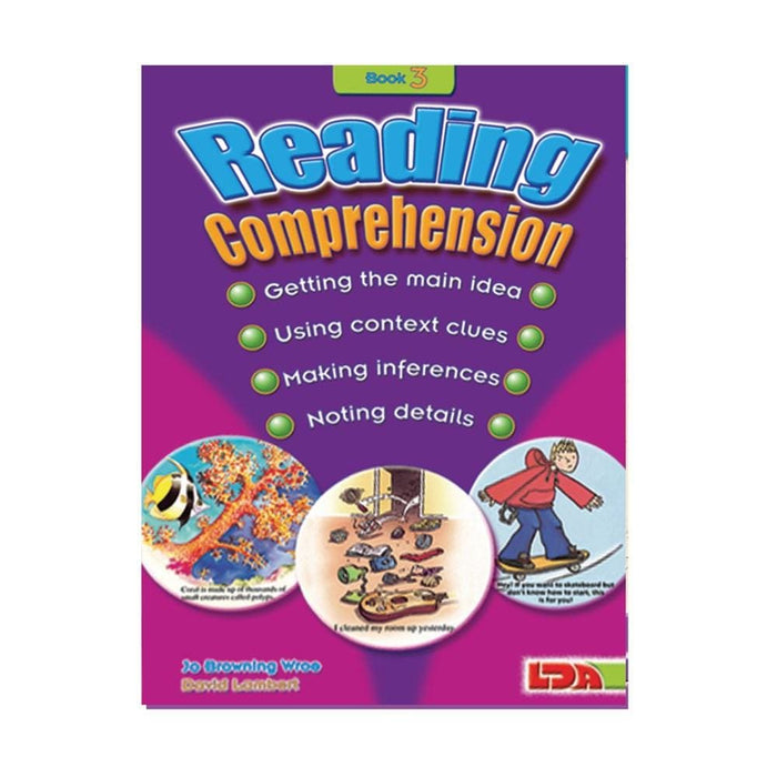 Reading Comprehension Book 3 and 4 Special Offer - English Dyslexia, Language Skills & Activities, Reading, Spelling