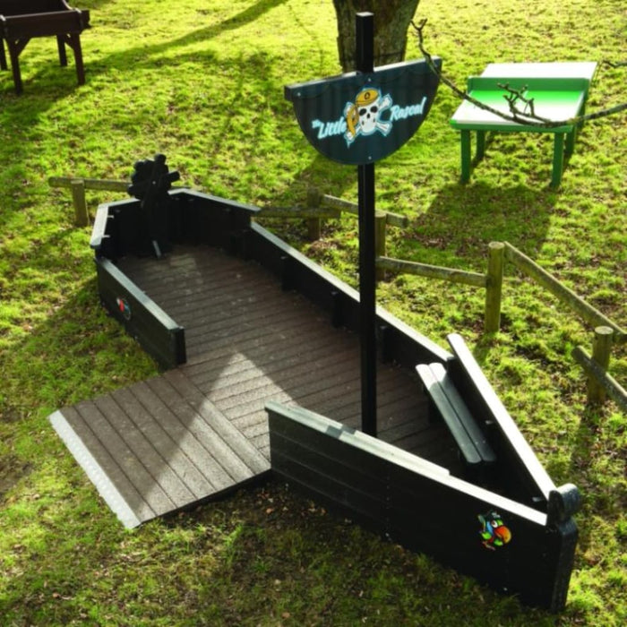 Sen Pirate Ship - Outdoor Inclusion Outdoor Plastic Play Recycled