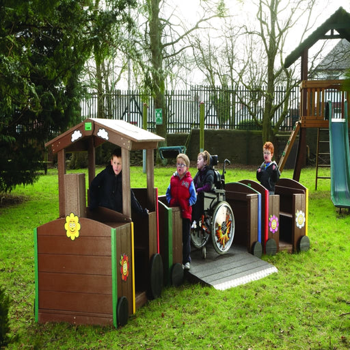 Sen Train Carriage - Outdoor Inclusion Outdoor Plastic Play Recycled