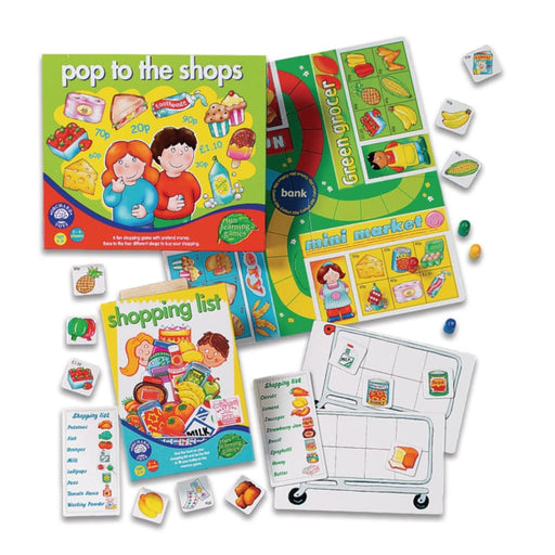 Shopping Games Pack - Maths Number Works & Games Sorting & Counting
