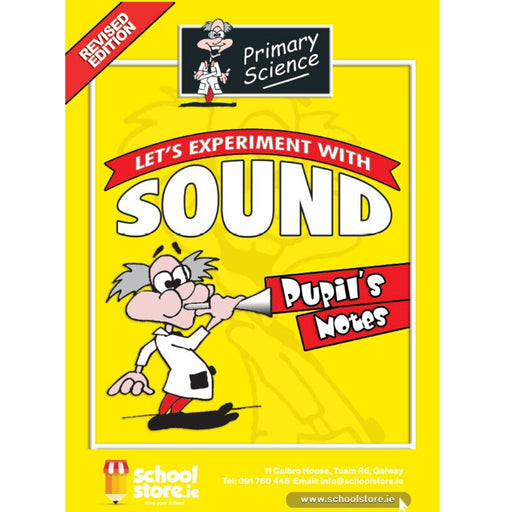 primary science sound experiments notes