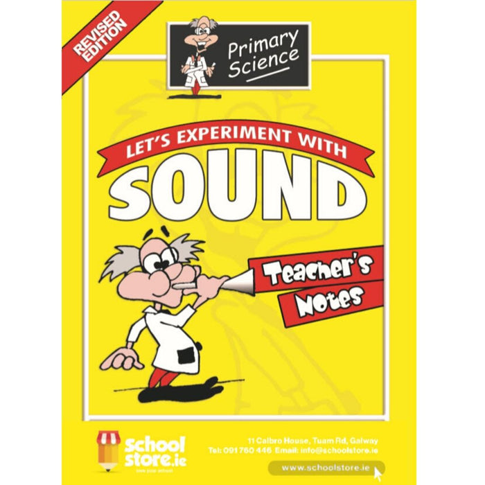 primary science sound experiments teacher's notes