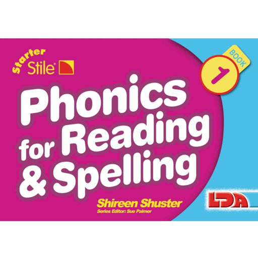 Starter Stile Book 1 Phonics for Reading & Spelling Books 1-6