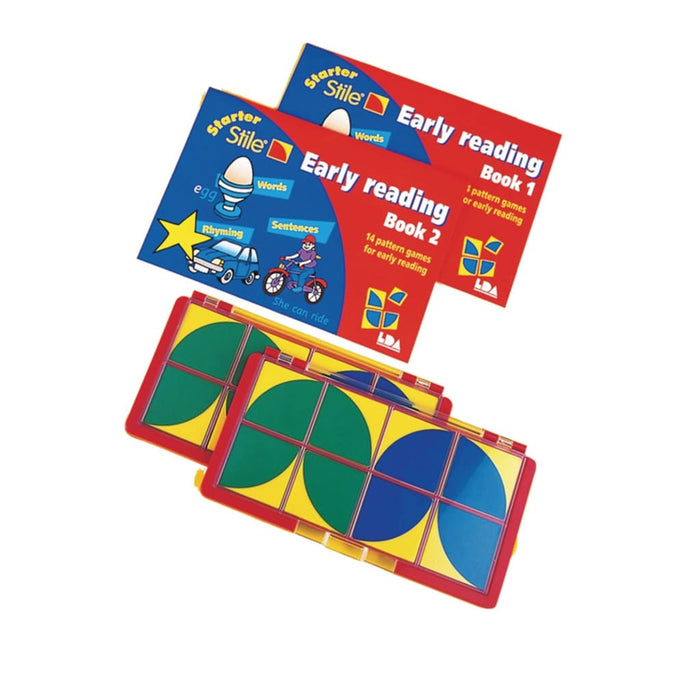 Starter Stile Early Reading Set - English Language Skills & Activities Phonics & Multiphonics Sequencing & Predicting Spelling Stile