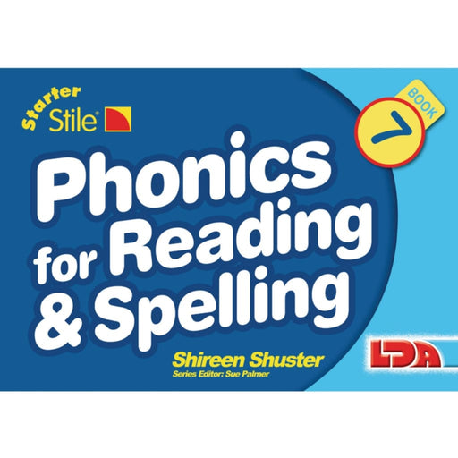 Starter Stile Phonics For Reading & Spelling Books 7-12 - English Dyslexia Language Skills & Activities Spelling Stile Stile Literacy