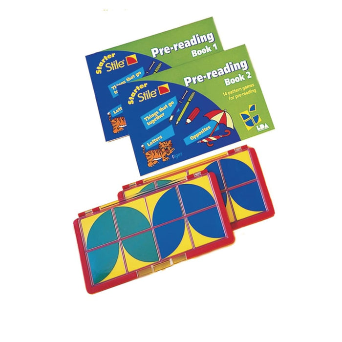 Starter Stile Pre-Reading Set - English Dyslexia Language Skills & Activities Phonics & Multiphonics Sequencing & Predicting Spelling