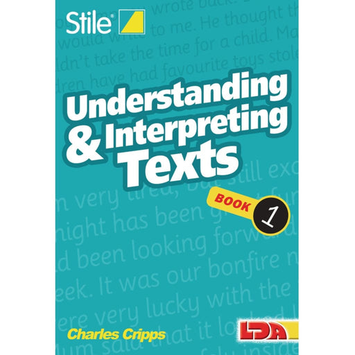 Stile Understanding & Interpreting Texts - Books 1-12 - English Language Skills & Activities Sequencing & Predicting Spelling Stile Stile