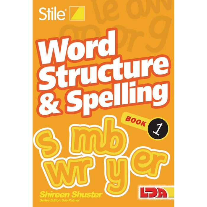 Stile Word Structure & Spelling - Books 1-12 - English Dyslexia Language Skills & Activities Phonics & Multiphonics Sequencing & Predicting