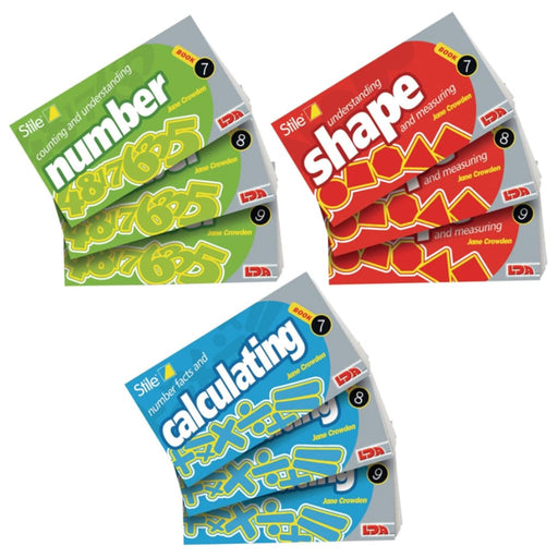 Stile Year 5/p6 Pack - Age 9-10 - Single Pack - Maths Dyspraxia & Dysculia Number Works & Games Sequencing & Predicting Sorting & Counting