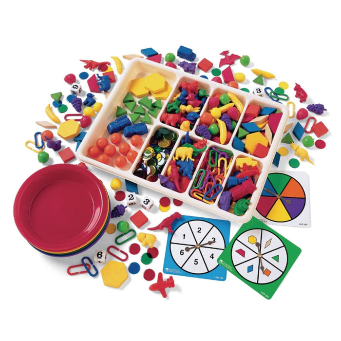 Super Sorting Set - Maths Number Works & Games Sequencing & Predicting Sorting & Counting