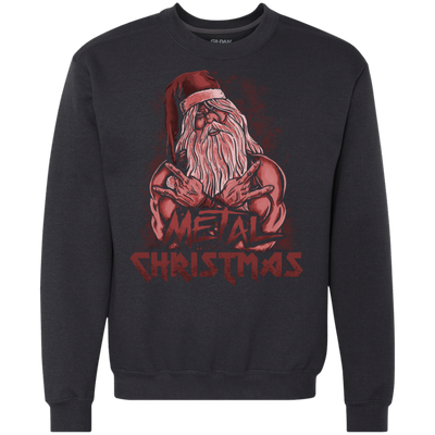 ugly christmas sweaters metal christmas red - Metal Christmas Sweater