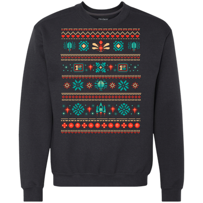 ugly christmas sweaters pixel knit