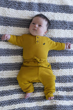 Load image into Gallery viewer, Waffle Organic Cotton Pants - Nugget Gold