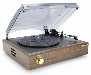 Nostalgic Turntable with built-in Speakers - smokethrow.com