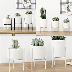 Nordic Style Planter - assorted sizes & colors - smokethrow.com