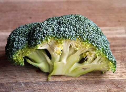 Broccoli - a good source of protein for a vegan diet