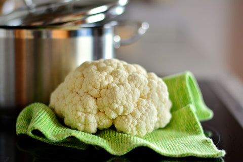 cauliflower as a rice alternative