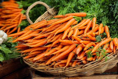 Vegan Foods to Boost Immune System - Carrots