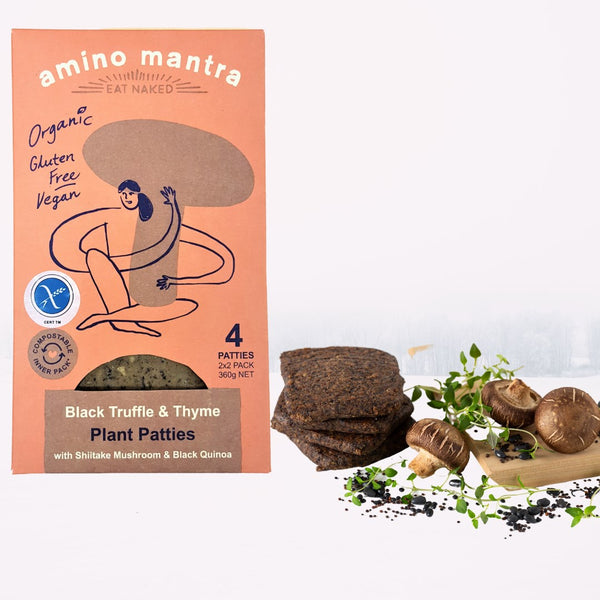 Black Truffle & Thyme Plant Patties
