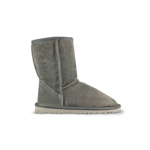 Burlee classic medium size slate colour sheepskin ugg boots
