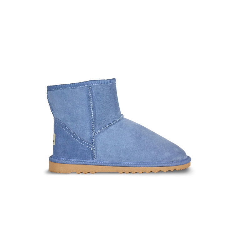 Burlee classic mini size country blue colour sheepskin boots, ugg style