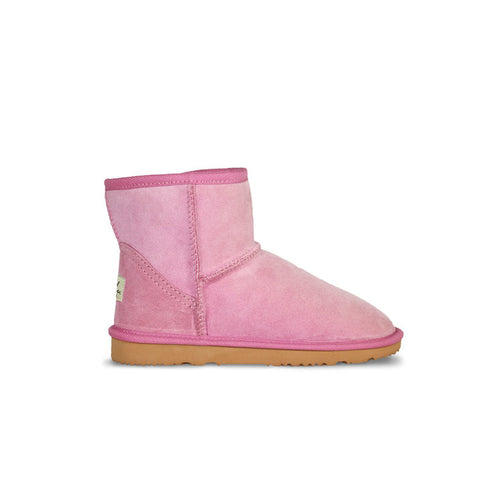 Burlee classic mini size orchid pink colour sheepskin boots, ugg style boots