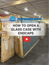 Opening a Glass Case Video